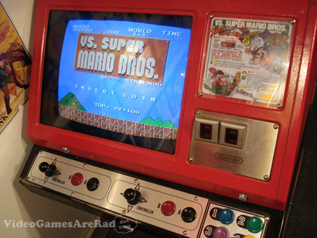Nintendo Vs  Arcade Hardware / Red Tent Cocktail Cabinet