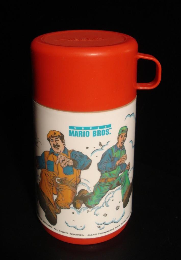 super mario bros. the movie the thermos